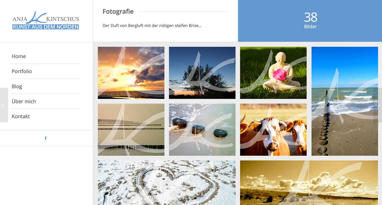Künstler Website erstellen