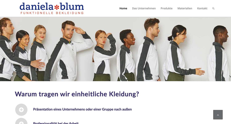 Internetseite erstellen lassen Daniela Blum Immenstadt