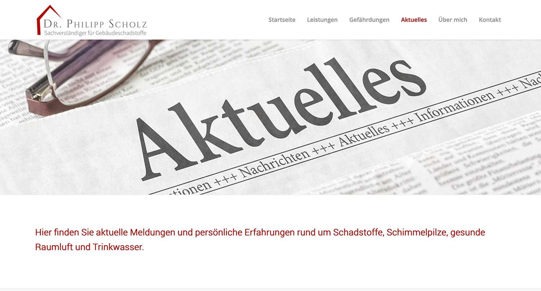 Website erstellen Wordpress